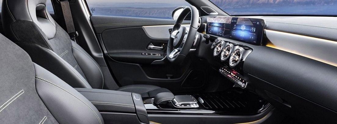 Asientos delanteros del nuevo Mercedes Clase A