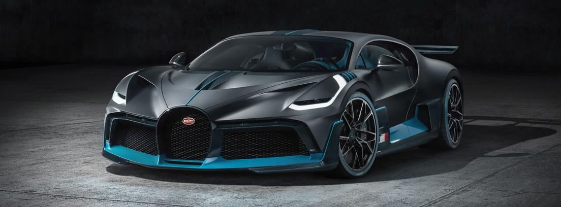 Visión frontal del nuevo Bugatti Divo