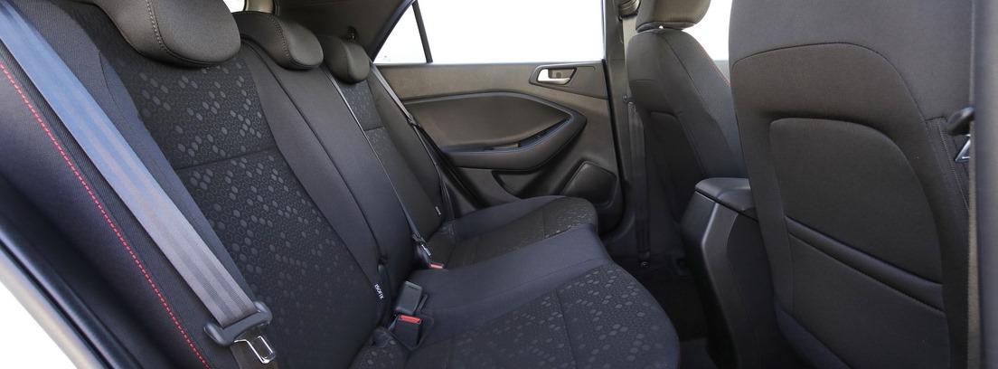Asientos traseros del Hyundai-i20