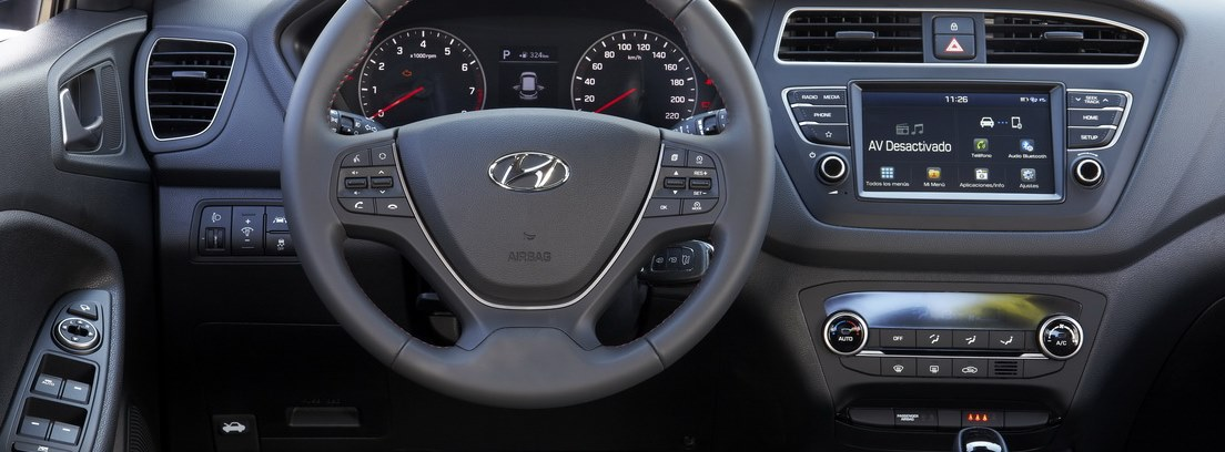 Salpicadero del Hyundai-i20