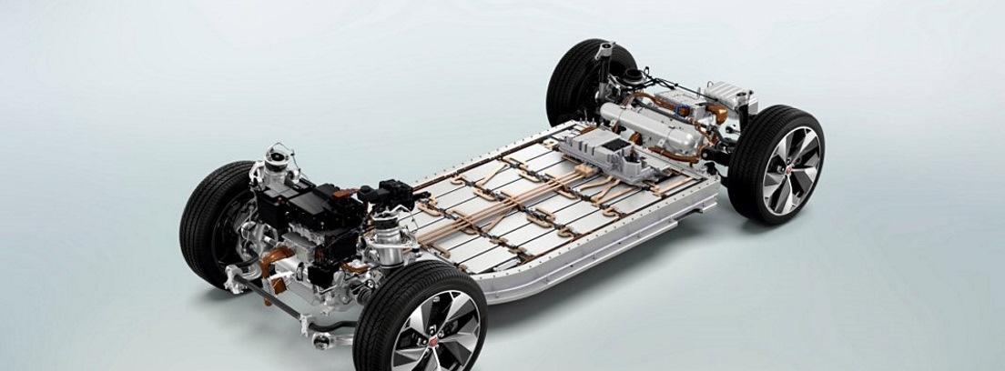 Motor del Jaguar I-Pace