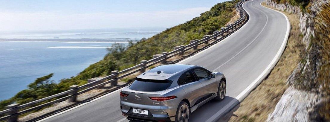 Vista trasera del Jaguar I-Pace
