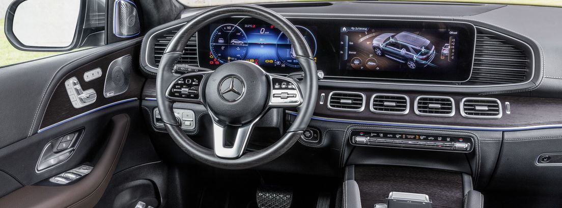 Interior del Mercedes GLE