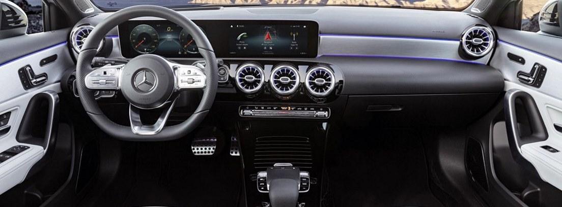 Salpicadero del nuevo Mercedes Clase A