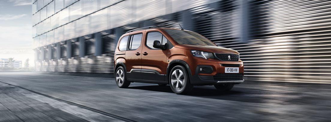Peugeot Rifter en movimiento