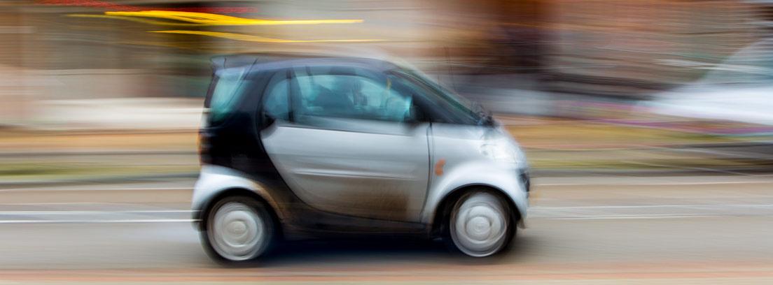 Coche eléctrico con efecto de velocidad, una apuesta por la movilidad sostenible
