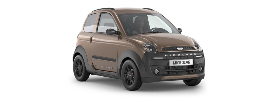 coche sin carnet Highland X de Microcar
