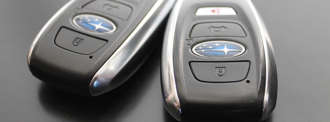 Mandos de apertura de coche
