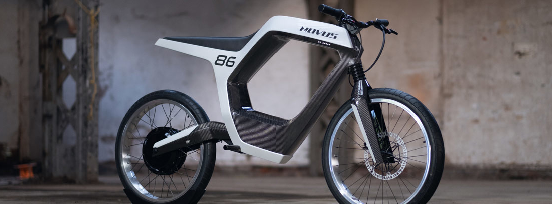 La motocicleta eléctrica Novus