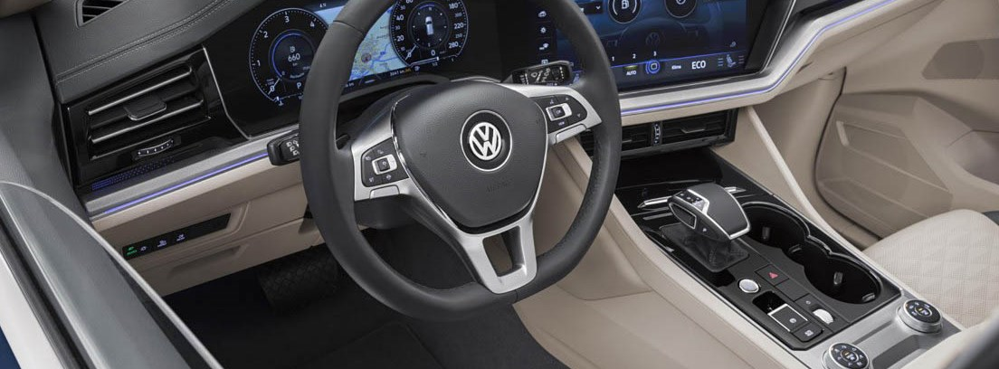Interior del Volkswagen Touareg