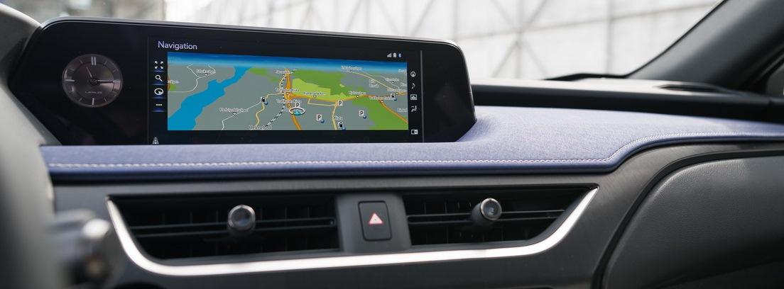 Pantalla integrada del Lexus UX 250h