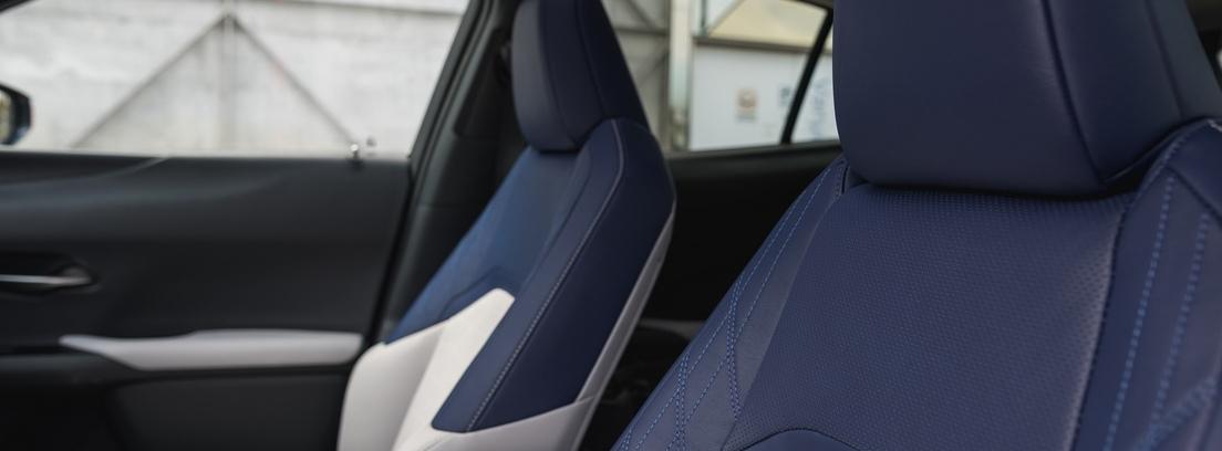 Asientos del nuevo Lexus UX 250h