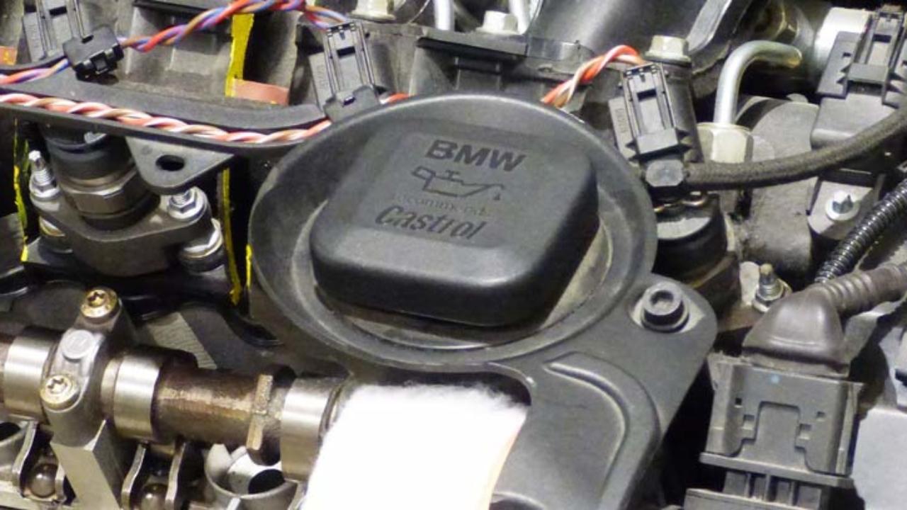 pre combustión de combustibles de catalizador más potencia Bmw menos emisiones y ahorrar combustible.