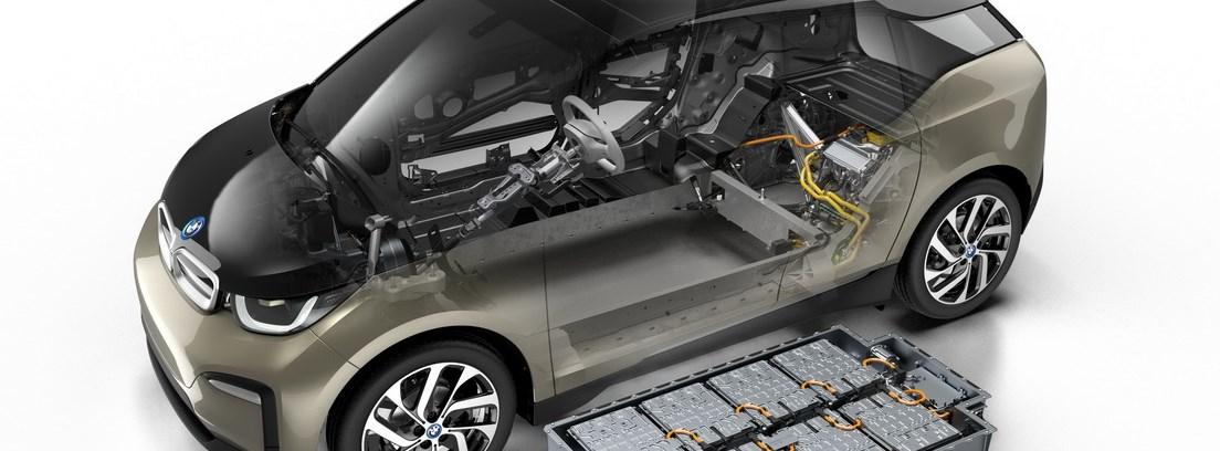 Detalle de las prestaciones interiores del BMW i3
