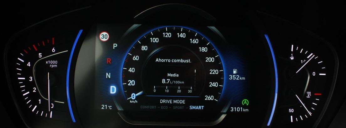 Cuadro de mandos del Hyundai Santa Fe