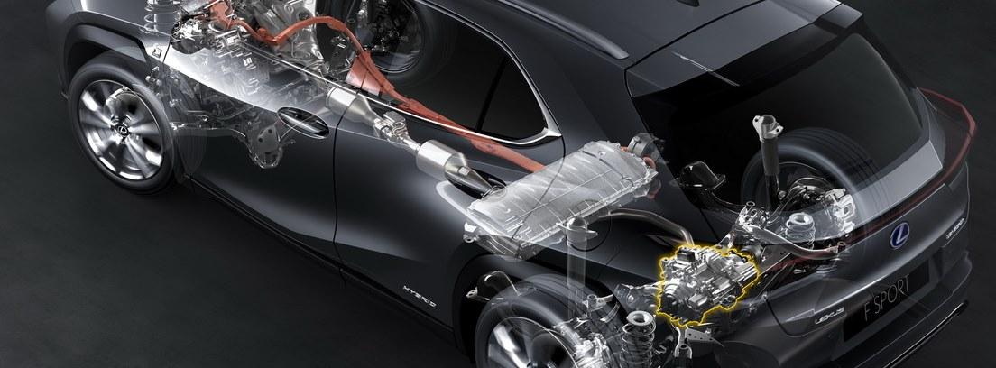 Radiografía mecánica del nuevo Lexus UX 250h
