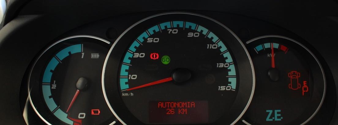 Consola del Renault Kangoo Maxi ZE 33
