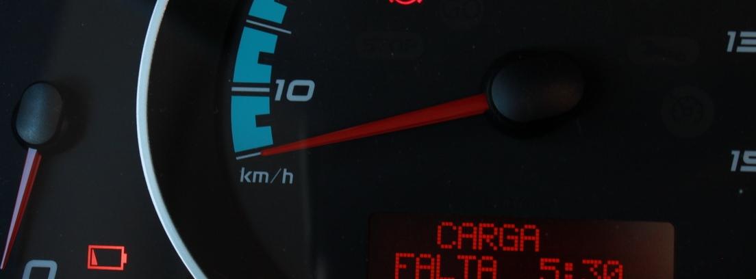 Cuenta Kilómetros del Renault Kangoo Maxi ZE 33