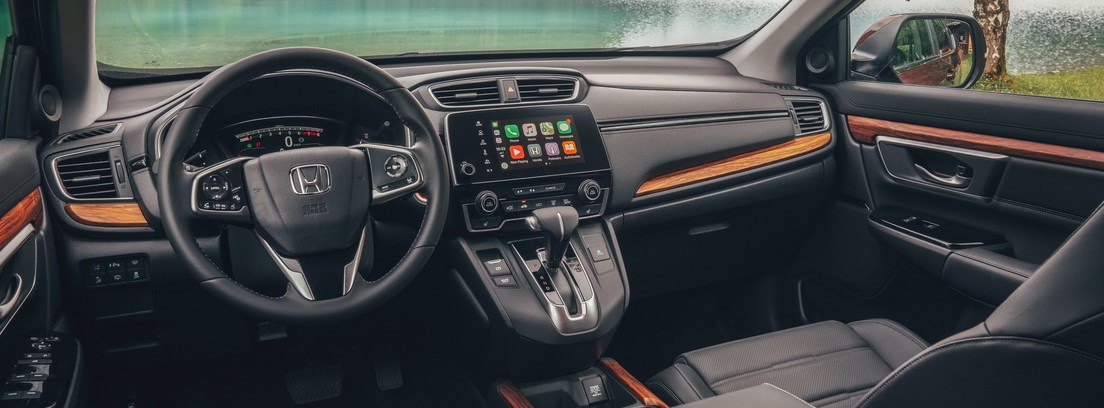 Vista interior del nuevo Honda CR-V
