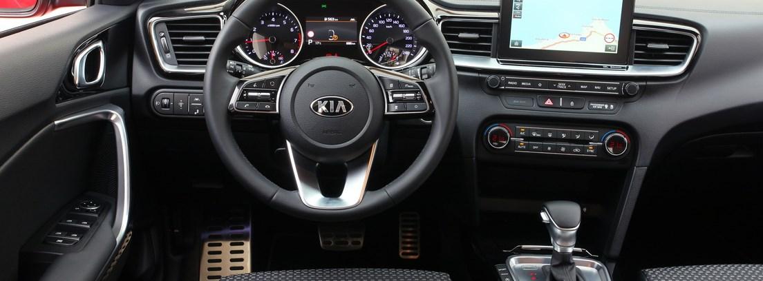 Salpicadero del nuevo Kia Ceed