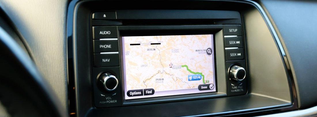 GPS de un coche