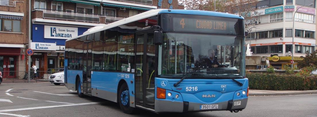Autobús de la EMT Madrid