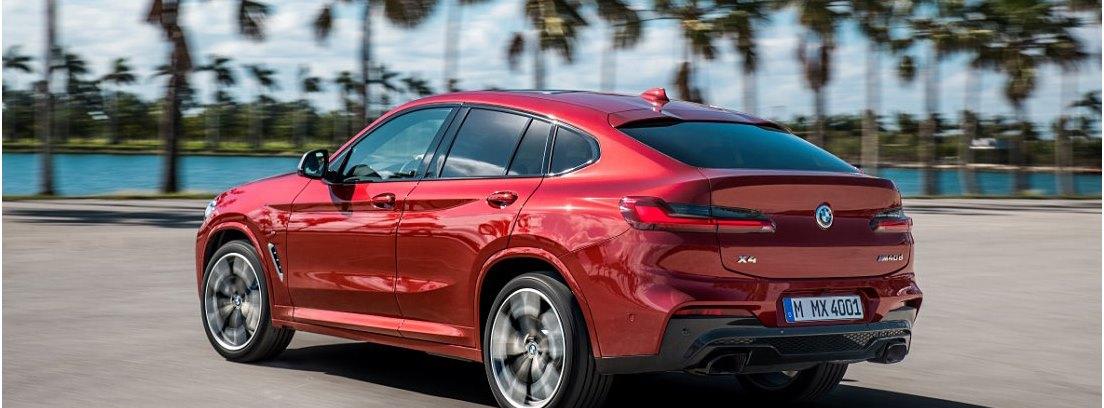 BMW X4 2018 vista trasera