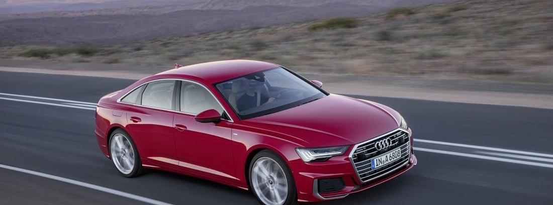 Audi A6 en carretera