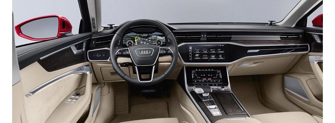 Nuevo Audi A6, consola interior