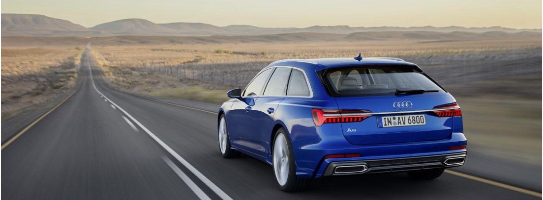 Vista trasera del nuevo Audi A6