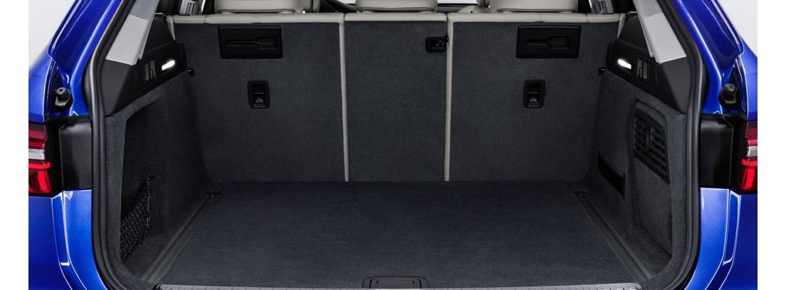 Interior del maletero del Audi A6