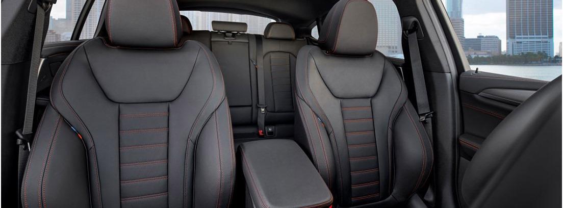 Asientos del nuevo BMW X4