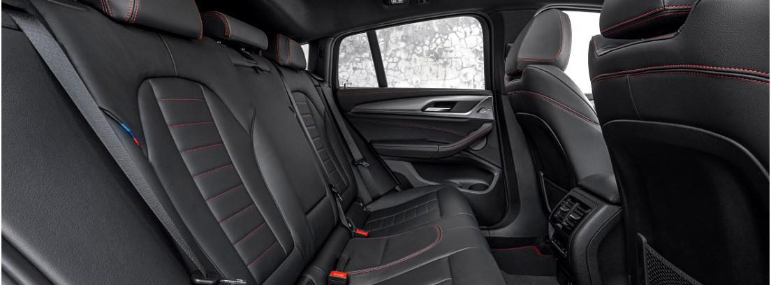 Otra vista de los asientos del nuevo BMW X4