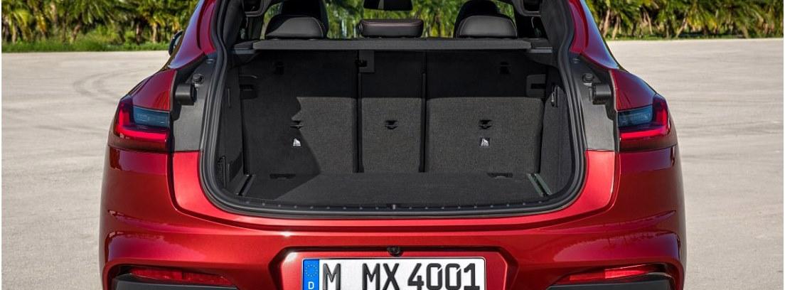 Vista trasera del BMW X4
