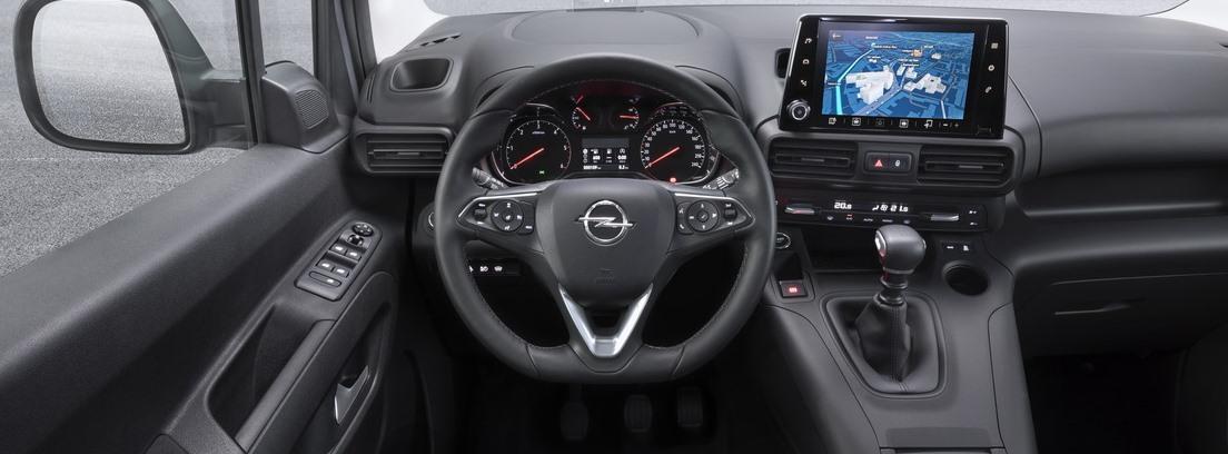 Visión interior del nuevo Opel Combo Life