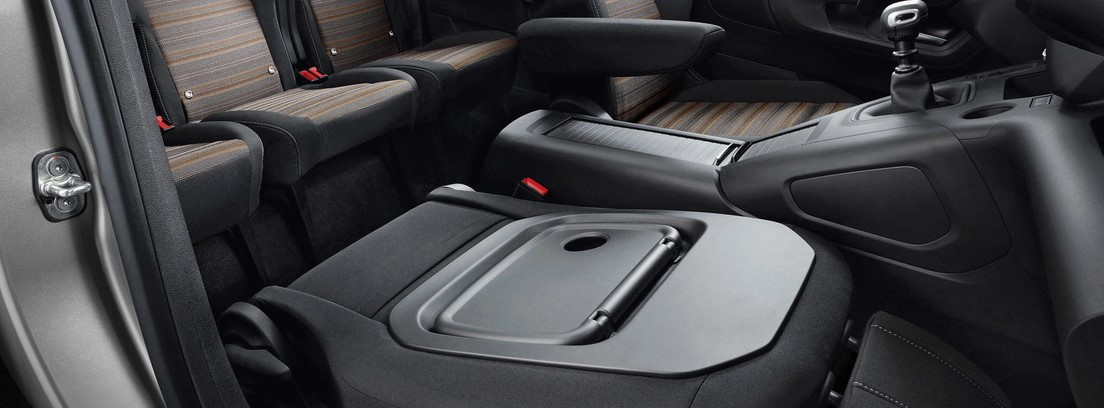 Vista interior del Opel Combo Life