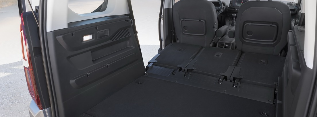 Carga trasera del nuevo Opel Combo Life