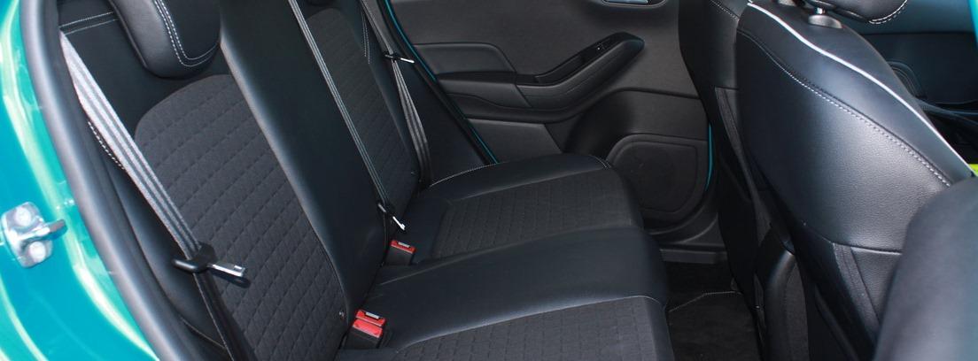 Interior del Ford Fiesta 1.0 Ecoboost