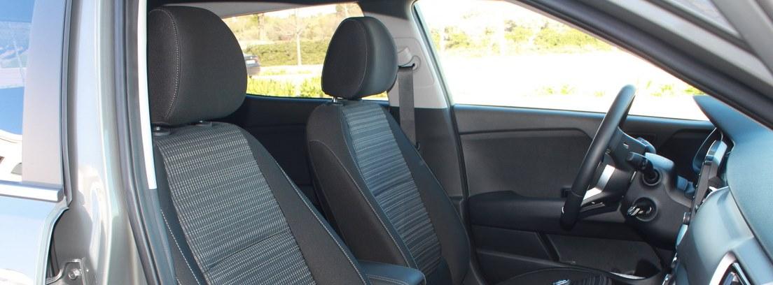 Interior de los asientos del Kia Stonic