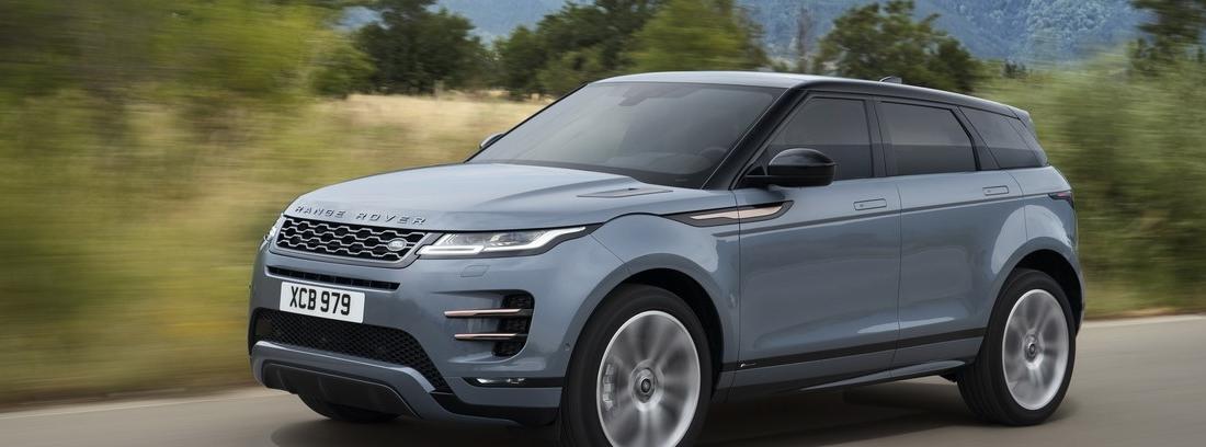 Range Rover Evoque en carretera