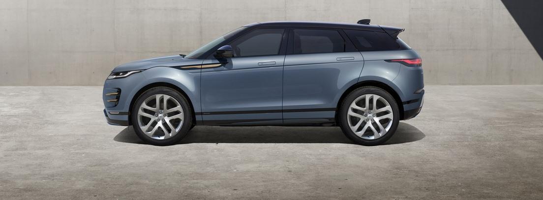 Vista lateral del Range Rover Evoque