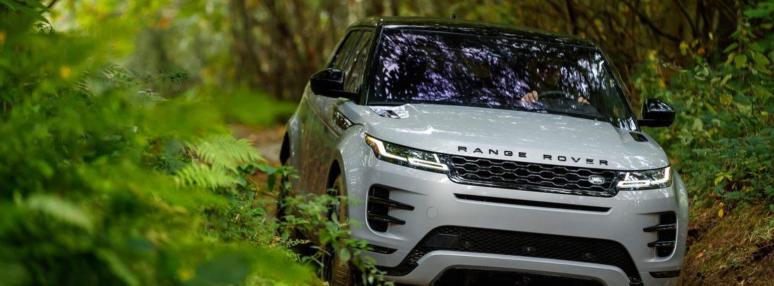 Range Rover Evoque por la naturaleza