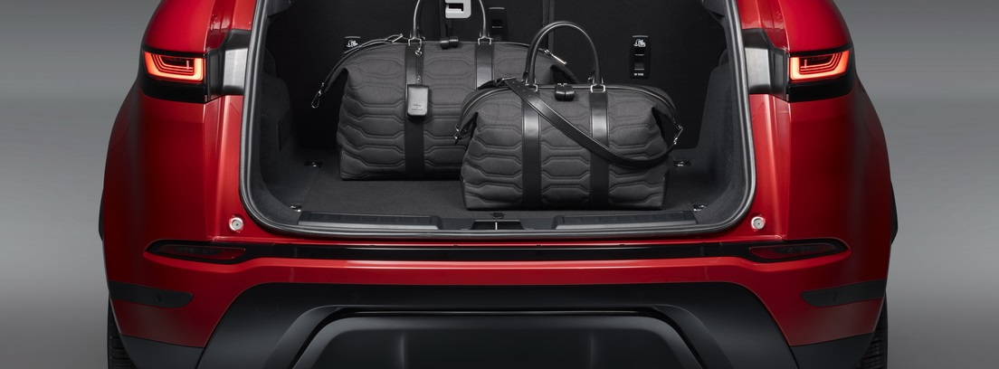 Range Rover Evoque maletero