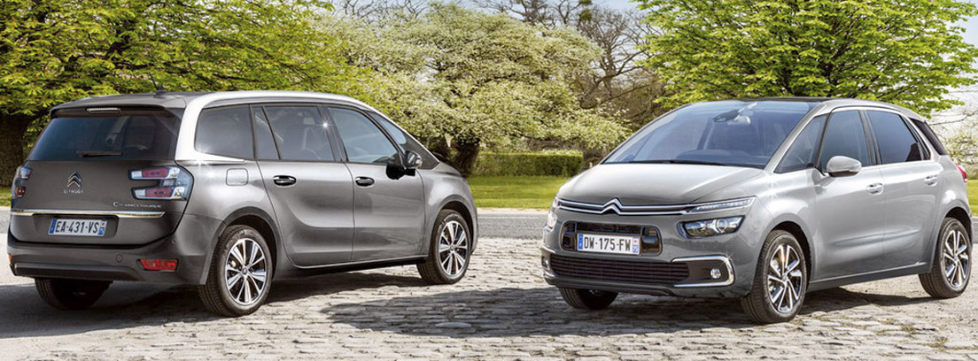 C4 SpaceTourer y Citroën Grand C4 SpaceTourer