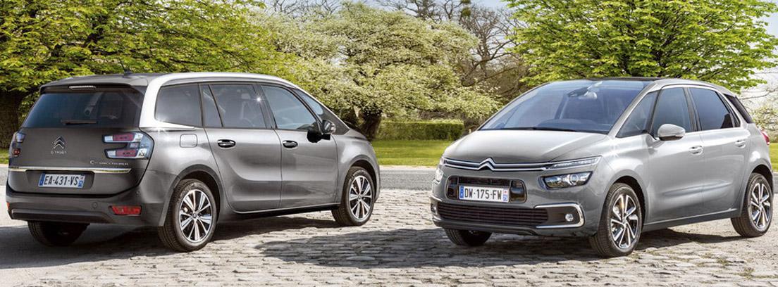 C4 SpaceTourer y Citroën Grand C4 SpaceTourer