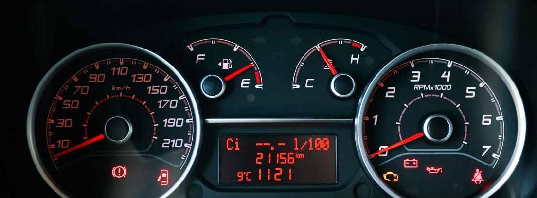 Cuadro de velocidad del Fiat Dobló Panorama