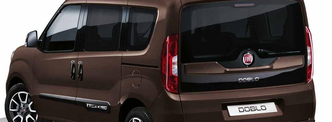 Vista trasera del nuevo Fiat Dobló Panorama