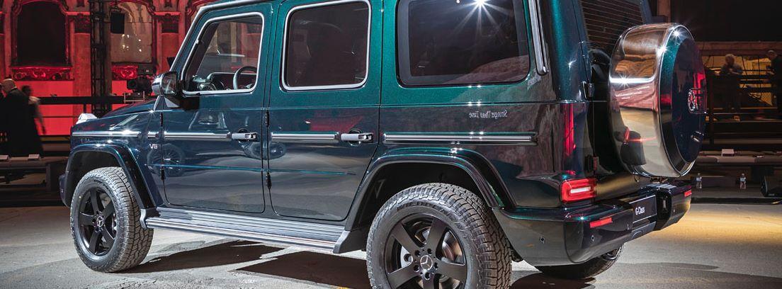 Mercedes Clase G en exposición