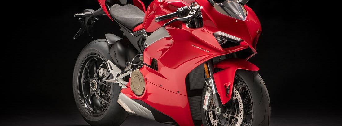 Ducati Panigale V4 S. Motor ligero y poderoso