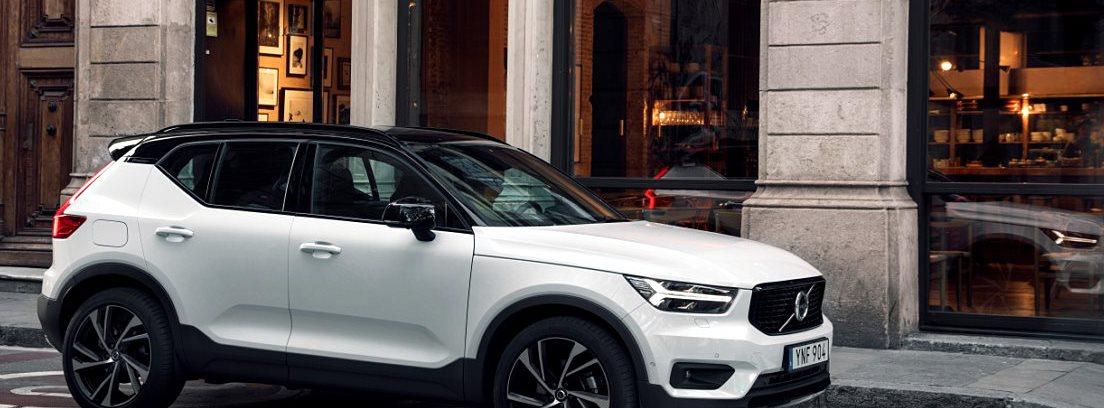 Volvo XC40 2018. Buen comportamiento: un coche dócil y seguro